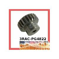 3RAC-PG4822 48 Pitch Pinion Gear 22T (7075 w/ Hard Coating)