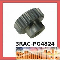 3RAC-PG4824 48 Pitch Pinion Gear 24T (7075 w/ Hard Coating)