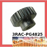 3RAC-PG4825 48 Pitch Pinion Gear 25T (7075 w/ Hard Coating)