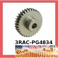 3RAC-PG4834 48 Pitch Pinion Gear 34T (7075 w/ Hard Coating)