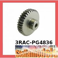 3RAC-PG4836 48 Pitch Pinion Gear 36T (7075 w/ Hard Coating)
