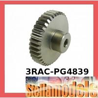 3RAC-PG4839 48 Pitch Pinion Gear 39T (7075 w/ Hard Coating)