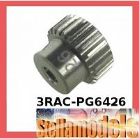 3RAC-PG6426 64 Pitch Pinion Gear 26T (7075 w/ Hard Coating)