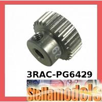 3RAC-PG6429 64 Pitch Pinion Gear 29T (7075 w/ Hard Coating)