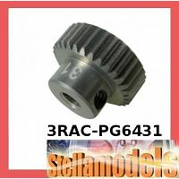 3RAC-PG6431 64 Pitch Pinion Gear 31T (7075 w/ Hard Coating)