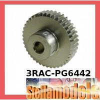 3RAC-PG6442 64 Pitch Pinion Gear 42T (7075 w/ Hard Coating)