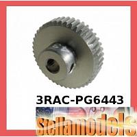 3RAC-PG6443 64 Pitch Pinion Gear 43T (7075 w/ Hard Coating)