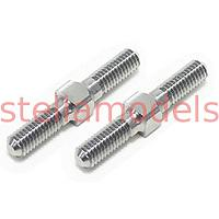 3RAC-TR321 64 Titanium 3mm Turnbuckle - 21mm (2 pcs)