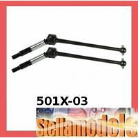 501X-03 Rear Swing Shaft for TRF501X / DB01