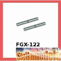 FGX-122 Suspension Outer Pin Set For 3racing Sakura FGX
