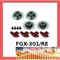 FGX-301/RE Brake Disk Set For 3racing Sakura FGX