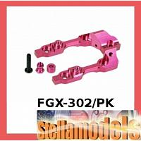 FGX-302/PK Aluminum Rear Bulkhead Cover For 3racing Sakura FGX