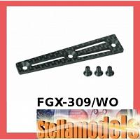 FGX-309/WO Carbon Upper Deck Stiffener For 3racing Sakura FGX