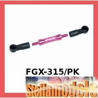FGX-315/PK Rear Chassis Linkage For 3racing Sakura FGX