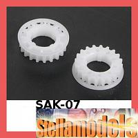 SAK-07 Center Pulley Set 20T for Sakura Zero
