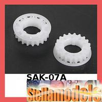 SAK-07A Center Pulley Set 19T for Sakura Zero