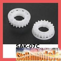 SAK-07C Center Pulley Set 22T for Sakura Zero
