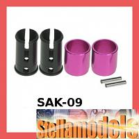 SAK-09 Solid Axle Outer Joint (2) for Sakura Zero