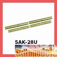 SAK-28U Suspension Outer Titanium Coated Pin Set for Sakura Zero