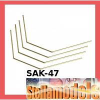 SAK-47 Rear Stabilizer Set for Sakura Set
