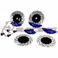 SAK-D301/V2/BU Sakura D3 & D4 Sport Edition Brake Disc Set (Blue)