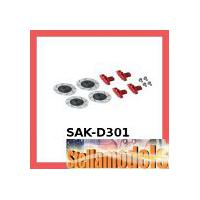 SAK-D301 Brake Disc Set For Sakura D3