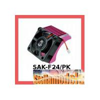 SAK-F24/PK Aluminium Motor Heatsink Front Type For 3racing Sakura FF