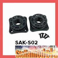SAK-S02 Center Pulley Set (20T) For SAKURA ZERO S