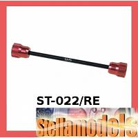 ST-022/RE Touring Car Tyre Holder (Red Colour)