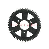 (V3R-0859/V2) Low Friction POM Spur Gear 59T Ver. 2 For V One RRR