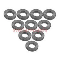 3RAC-WF310/TI Aluminium M3 Flat Washer 1.0mm (10 Pcs) - Titanium Color