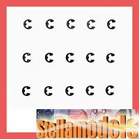 50588 2mm E-Ring (15 pcs)