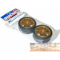 51219 Drift Tires Type-D & Wheels (2pcs.)