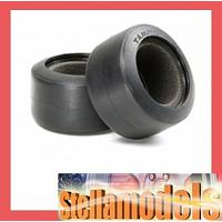 54199 F104 Rubber Tires (Rear, Soft)