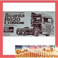Scania R620 6X4 Highline Body Parts Set [TAMIYA]