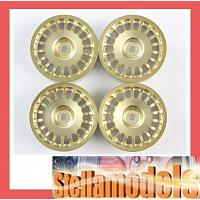 #84155 Medium-Narrow Rally Dish Wheels (Gold/±0)