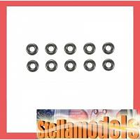 3mm O-Ring Black *10 [TAMIYA]