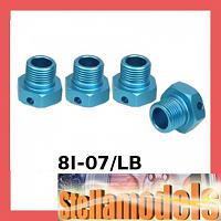 8I-07/LB Alum Wheel Adaptor 17mm (+2mm) for 8ight