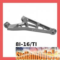 8I-16/TI Alum Front Chassis Brace for 8ight