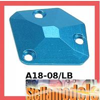 A18-08/LB Aluminum Chassis Gear Cover For RC18
