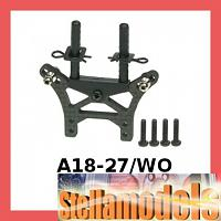 A18-27/WO Rear Graphite Shock Tower For RC18