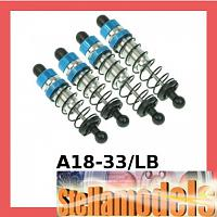 A18-33/LB Aluminum Oil Damper Set For RC18-T and RC18-B
