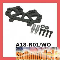 A18-R01/WO Front Graphite Shock Tower For RC18-R