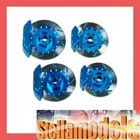 AD12/V2/LB Realistic Brake Disk Set - Light Blue