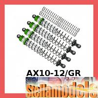 AX10-12/GR Oil Damper Set (Inter or Outer Spring) for Axial AX10