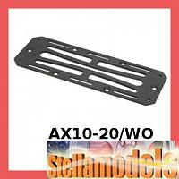 AX10-20/WO Graphite Battery Radio Tray Plate for Axial AX10