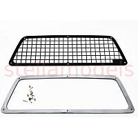 Metal Rear Window Protector Cage for Tamiya 58519 Toyota Bruiser (RN36) / 58397 Hilux (CCH-001)