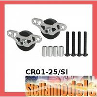 CR01-25/SI Chariot Skid Plate Wheel for TAMIYA CR-01