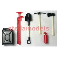 Tool Set (6Pcs.) for 1/10 trucks and crawlers (97400039)