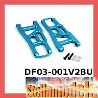 DF03-001V2BU Aluminum Front Lower Arm Light Ver. for DF03